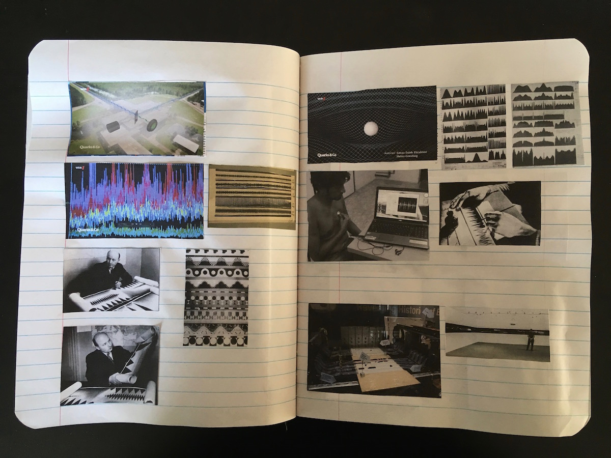 Annika Kahrs, Research for the billion year spree in personal notebook  (Annika Kahrs 8)
