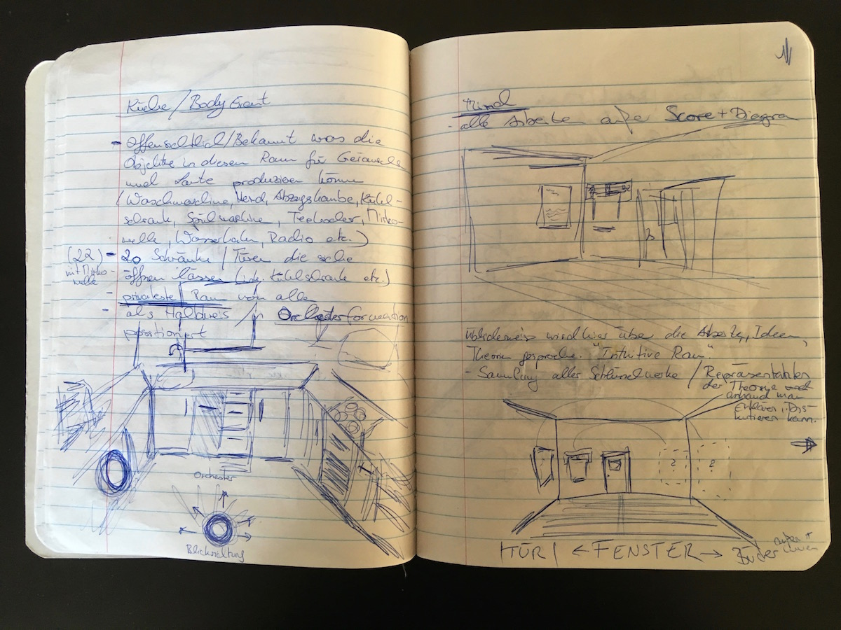 Annika Kahrs, Research for the billion year spree in personal notebook  (Annika Kahrs 9)