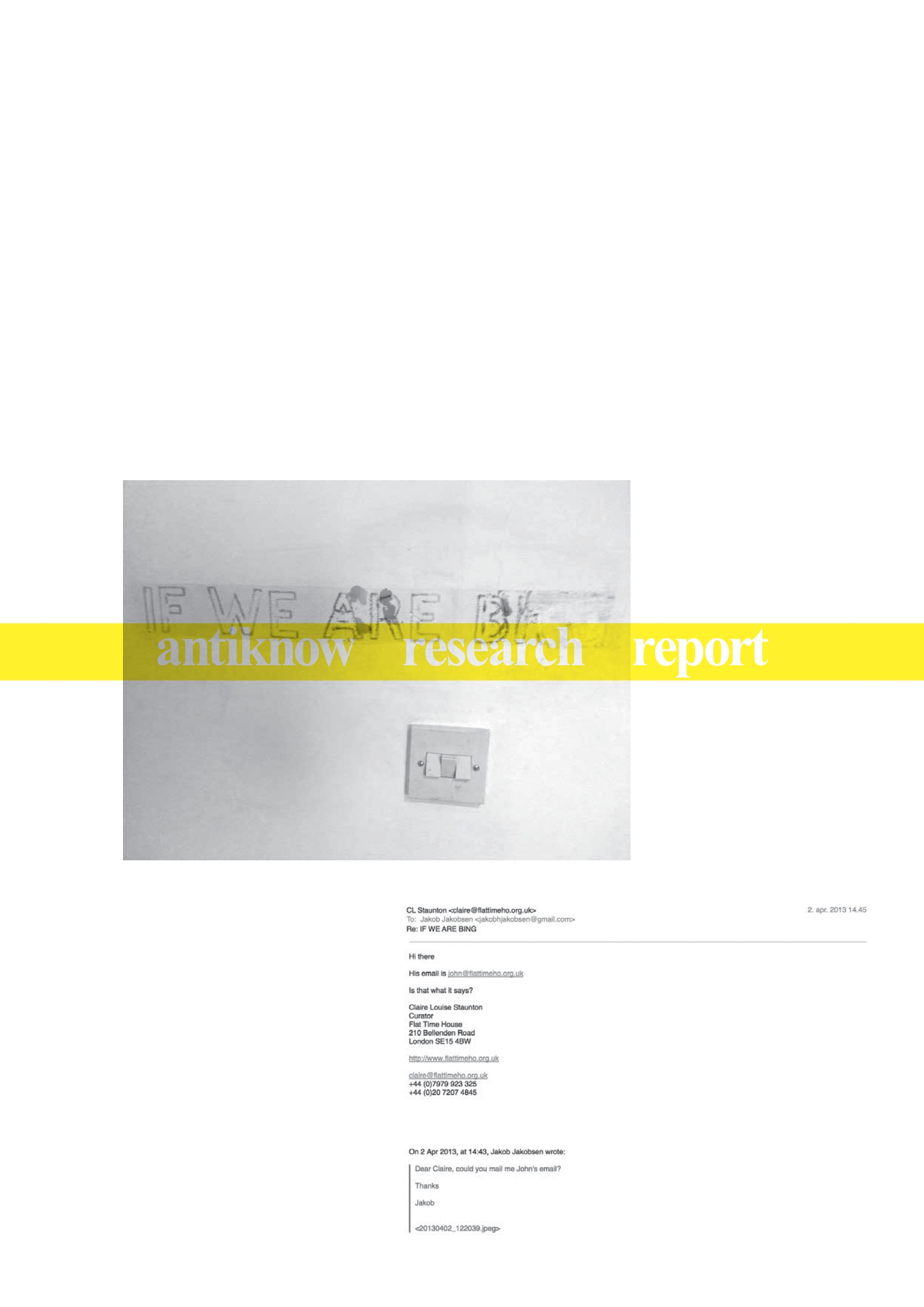 (ANTIKNOW RESEARCH REPORT 3)
