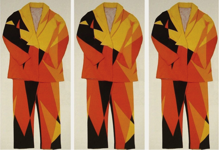 Giacomo Balla's Futurist Suit, ca. 1913–1918 (Archive of Destruction: Everything Will Be Interrupted 0)
