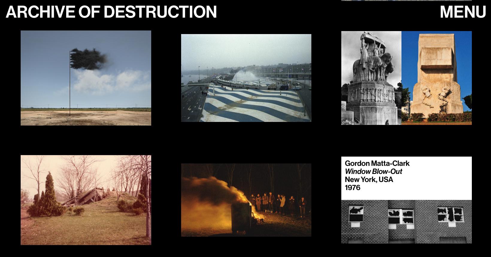 (ARCHIVE OF DESTRUCTION 7)