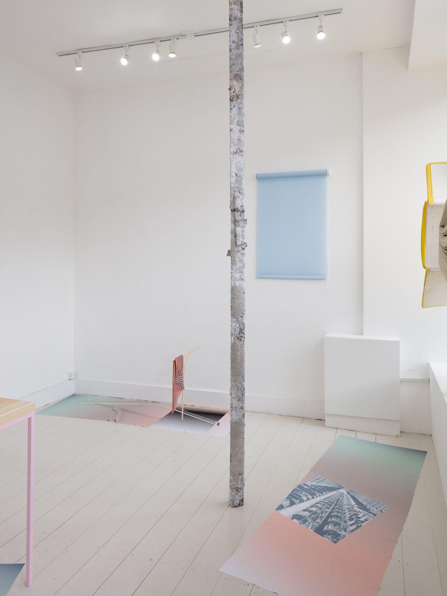 Ben Cain, Passive Imperative Participation Vibe, installation view, 2018. Documentation: Plastiques Photography (Ben Cain - Passive Imperative Participation Vibe 9)