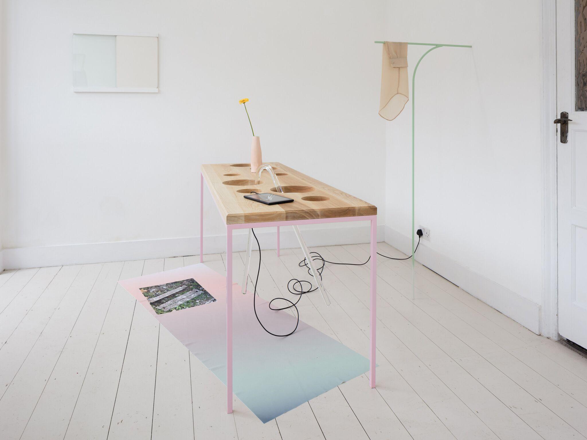 Ben Cain, Passive Imperative Participation Vibe, installation view, 2018. Documentation: Plastiques Photography (Ben Cain - Passive Imperative Participation Vibe 10)