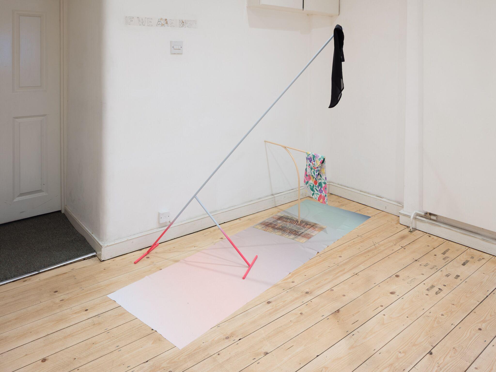 Ben Cain, Passive Imperative Participation Vibe, installation view, 2018. Documentation: Plastiques Photography (Ben Cain - Passive Imperative Participation Vibe 13)