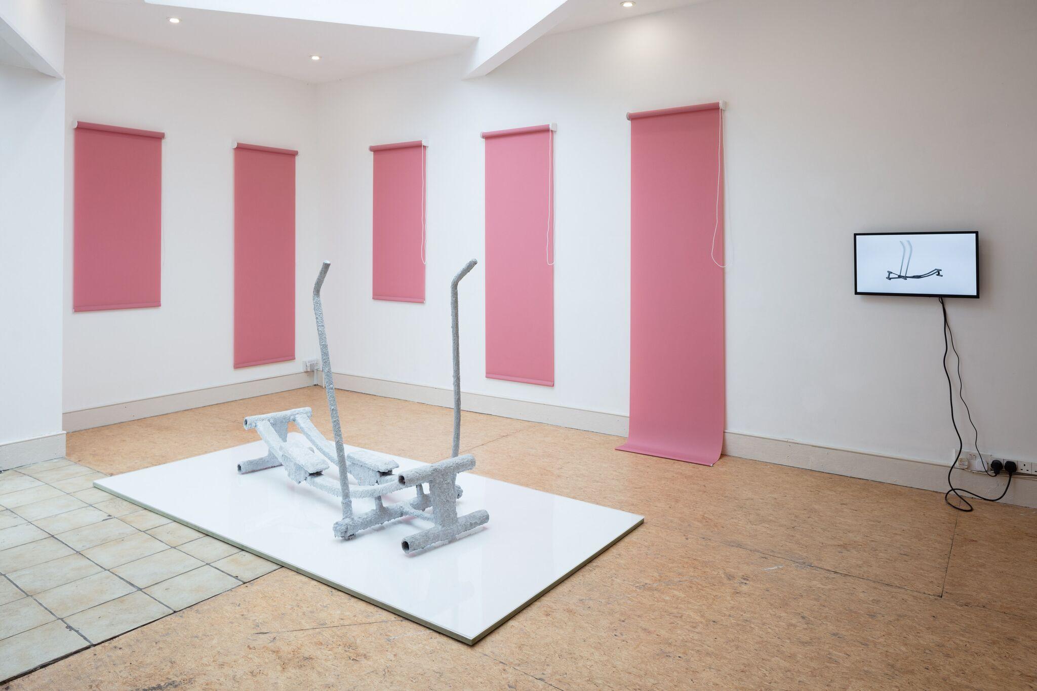 Ben Cain, Passive Imperative Participation Vibe, installation view, 2018. Documentation: Plastiques Photography (Ben Cain - Passive Imperative Participation Vibe 14)