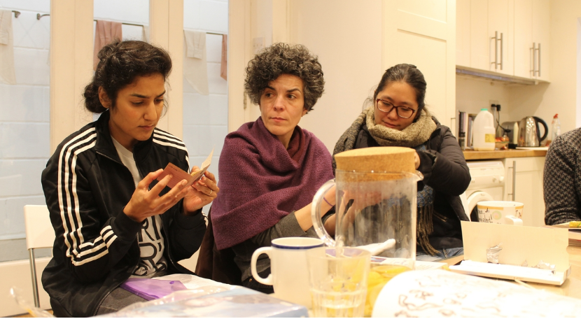 Constellations 2017/18 - Workshop 4 with Jasleen Kaur. Image: Up Projects (Constellations - Artist Open Call 2019 10)