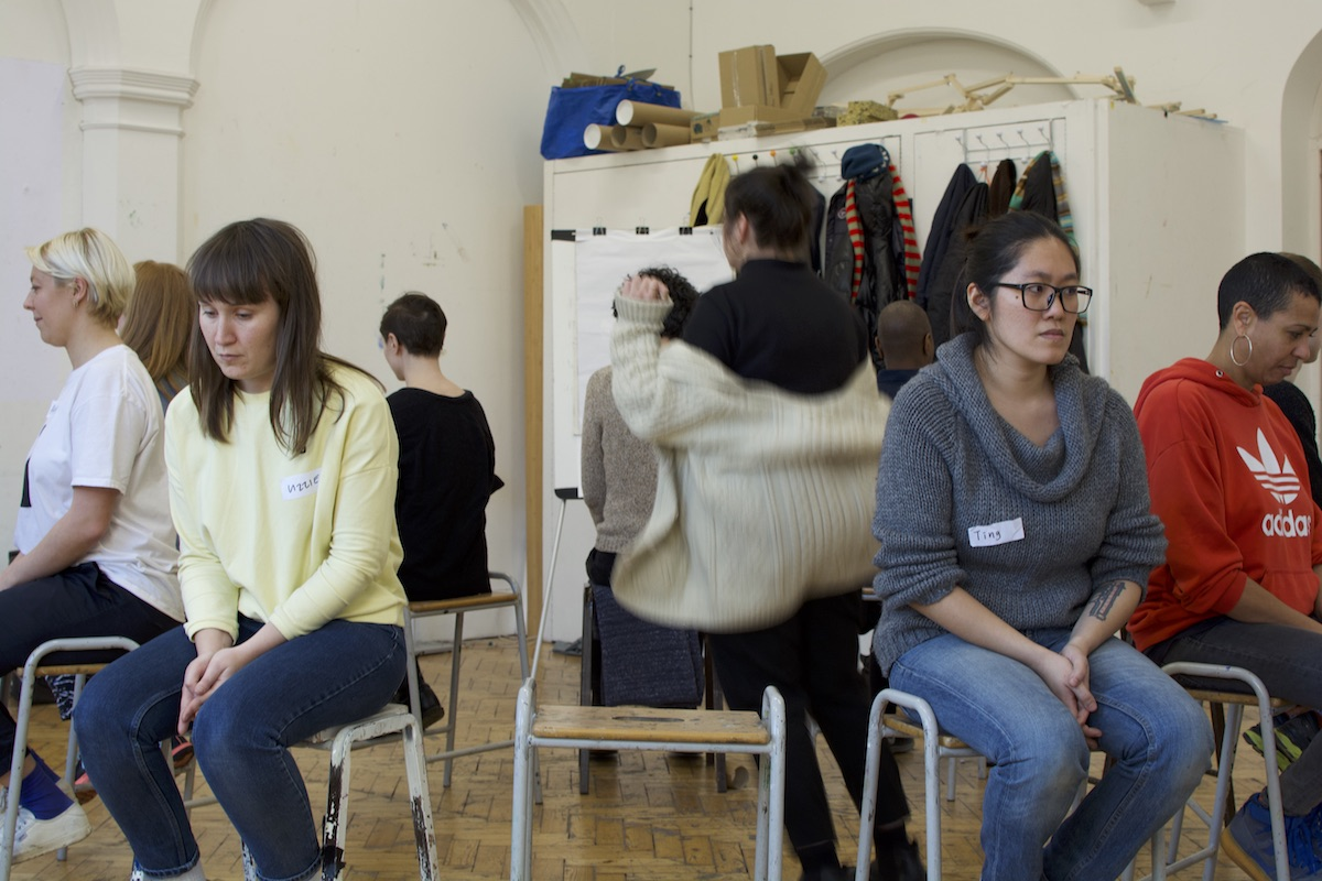 Workshop 5 with Helen Cammock, Camden Arts Centre. Credits to UP Projects (Constellations 0)