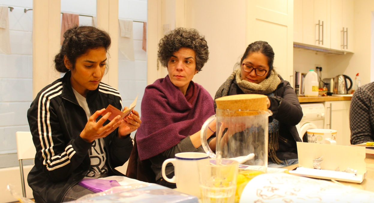 Workshop 4 with Jasleen Kaur, Flat Time House. Credits to UP Projects (Constellations 2)