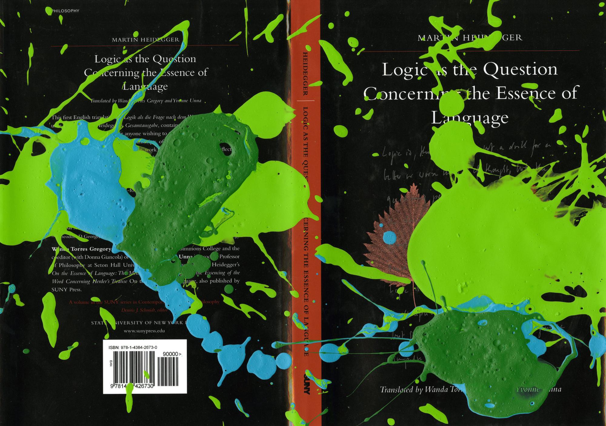 Mark Titmarsh, Phenomenological Interpretations, 2010, acrylic on paper (dust jacket), 21 x 30cm (Dust Jacket for an Exhibition Postponed 0)