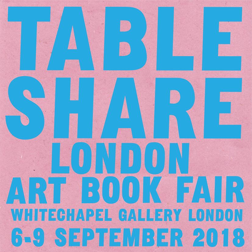 (London Art Book Fair 2018 1)