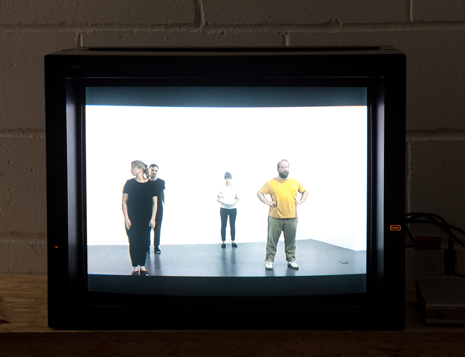 Installation views of 2013 N-U graduate resident Kari Robertson's resulting exhibition at Flat Time House, Self evident truths belong to bourgeois philosophy which was part of PAMI (Peckham Artist's Moving Image festival) Photo: Tom Saunderson (N-U GRADUATE RESIDENCY  0)