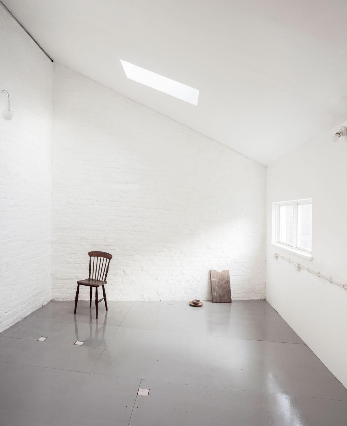 Newly designed artists studios by EBBA at Flat Time House photo: Lorenzo Zandri  (FLAT TIME HOUSE OPEN WEEKEND 3)