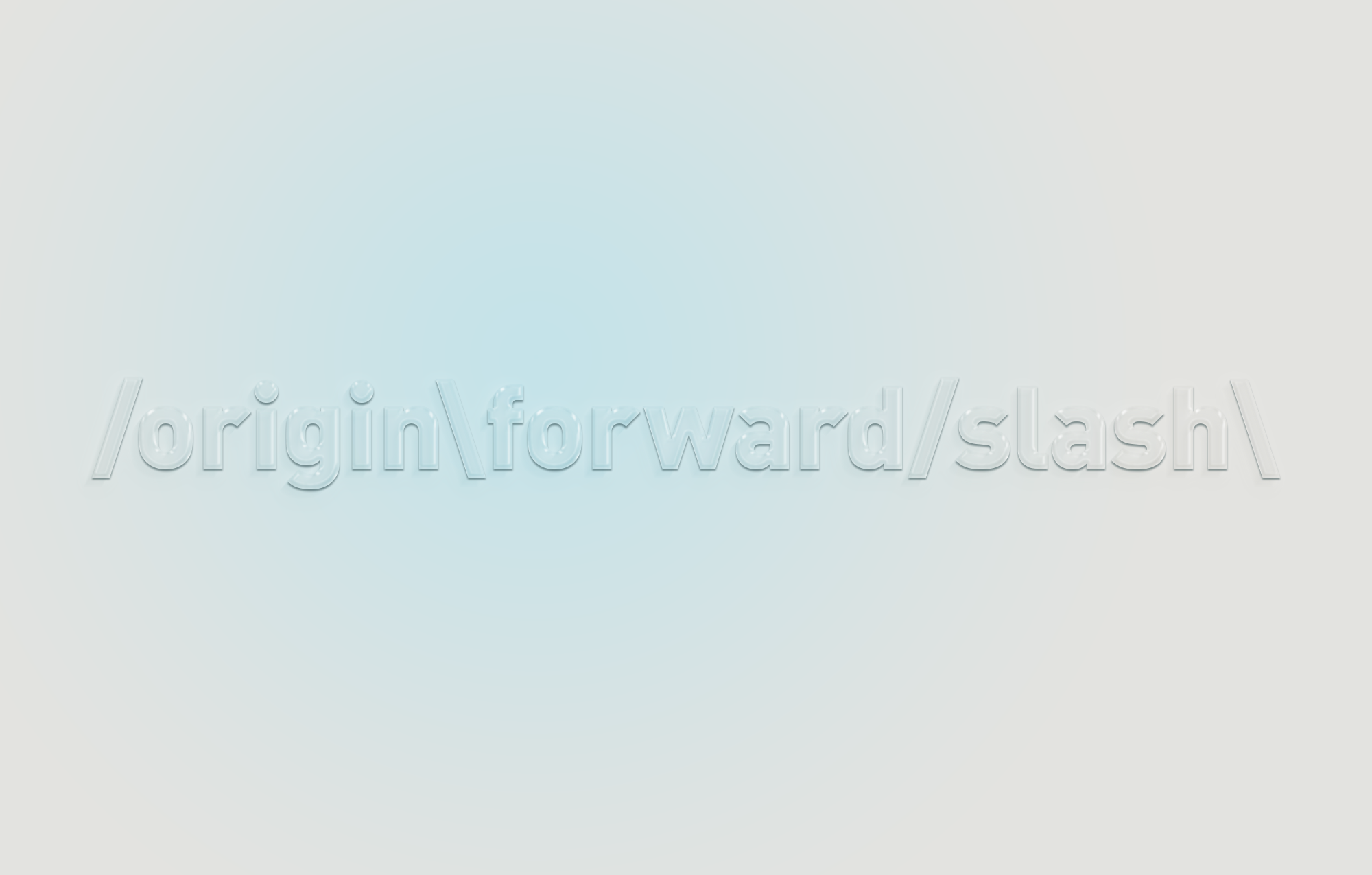 (/origin\forward/slash\ 0)