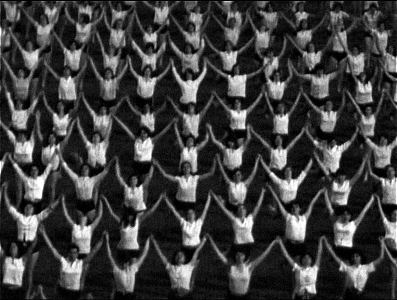 Marta Popivoda, Yugoslavia: How Ideology Moved Our Collective Body (still), 62 min, 2013. Image courtesy of the artist. (Scene Three: The Square 0)