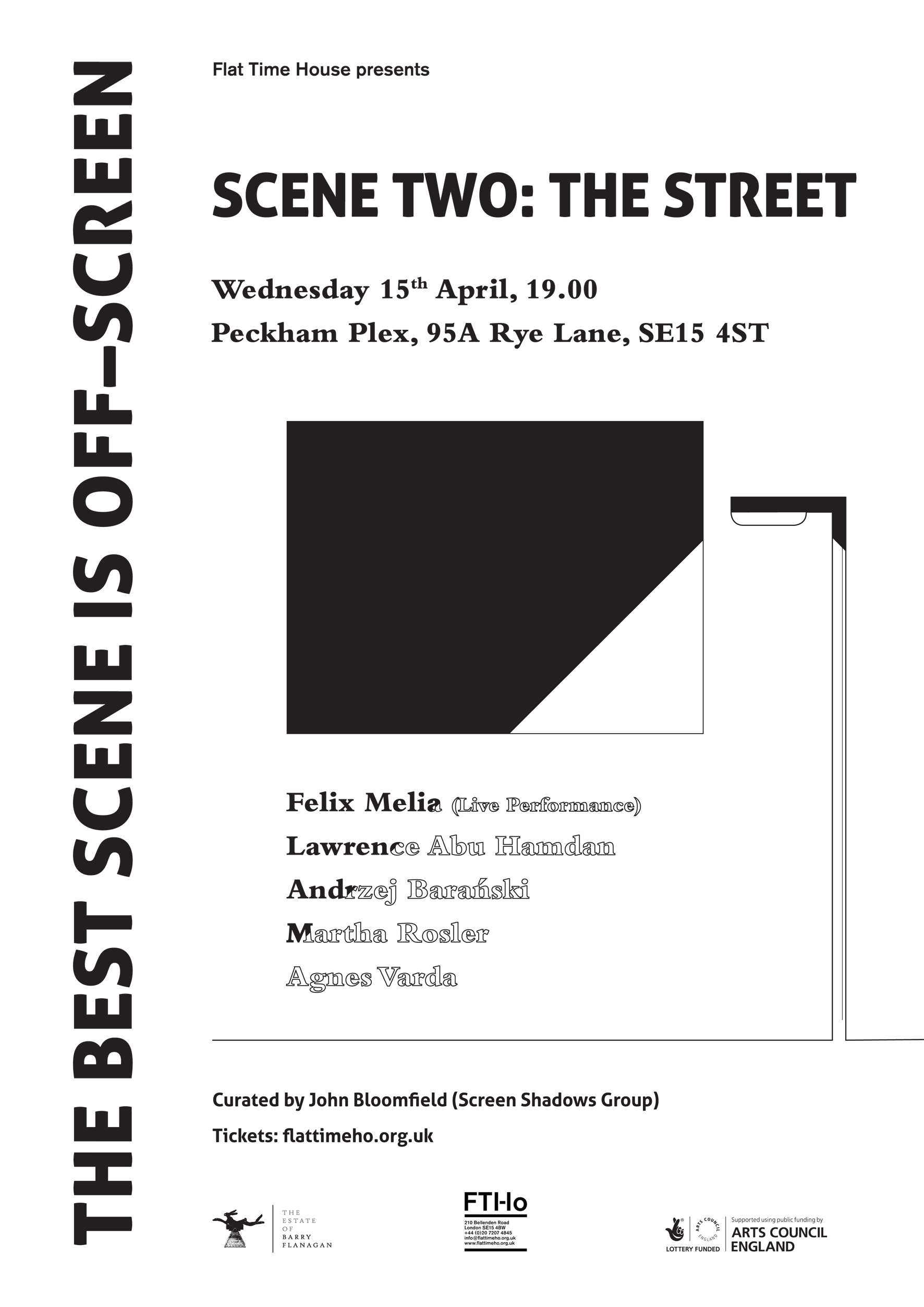 Poster: Niall Reynolds (Scene Two: The Street 1)