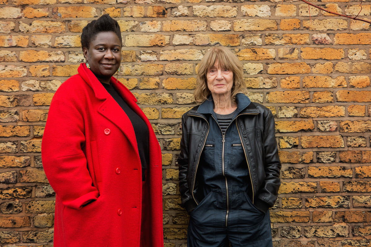 Barby Asante and Barbara Steveni (Southwark Education Research Project: Reactivated 2)