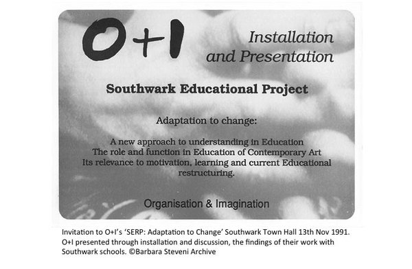 (Southwark Education Research Project: Reactivated 5)