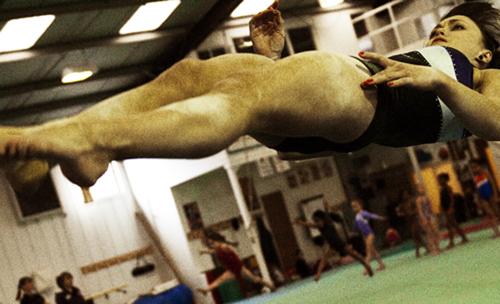 Jo Longhurst, Suspension (I) (Sports Event Spectacle 0)