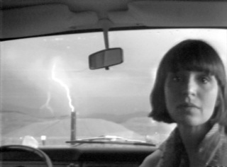 Image: Lightning, Marlene and Paul Kos, 1976. Image copyright of the artist, courtesy of Video Data Bank, www.vdb.org (VERTIGO 1)