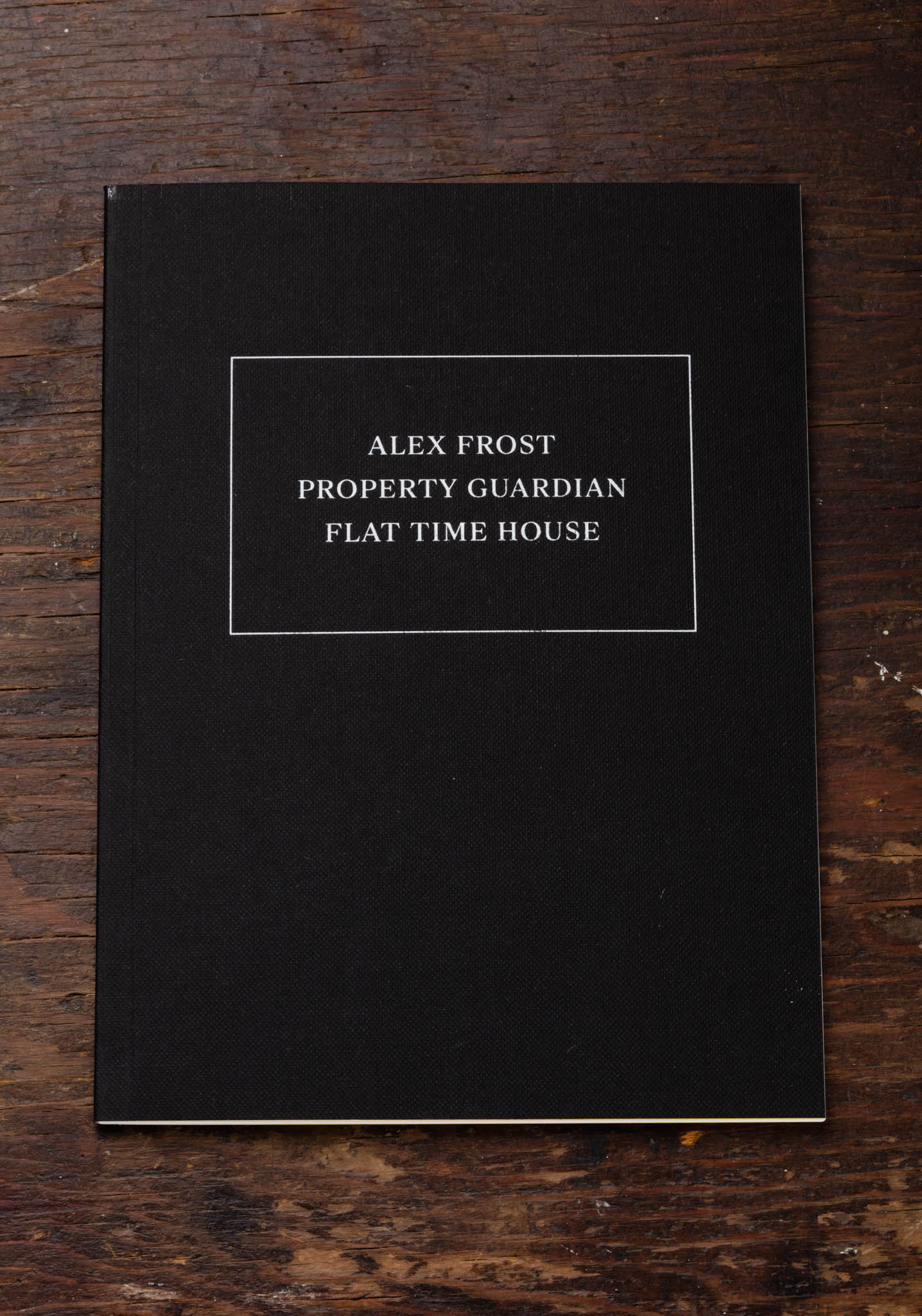 Alex Frost - Property Guardian