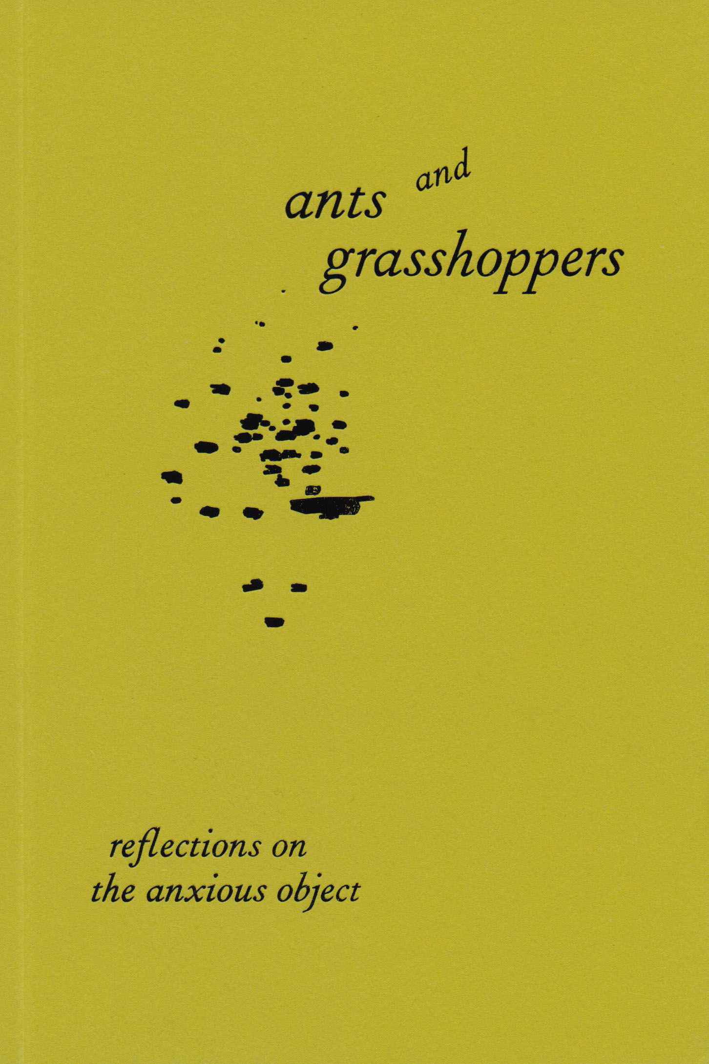 Ants and Grasshoppers Publication